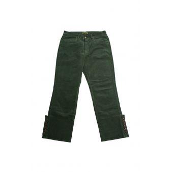 Pantalón campero pana Verde