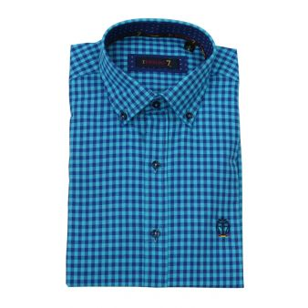 Camisa de caballero de cuadros