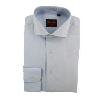 Camisa Rayas flandes Celeste