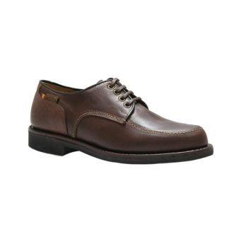 Blucher bordon ternera tabaco