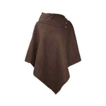 Poncho marrón