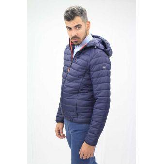 Nico model navy jacket