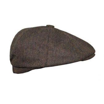 Gorra Irlandesa espiga marrón