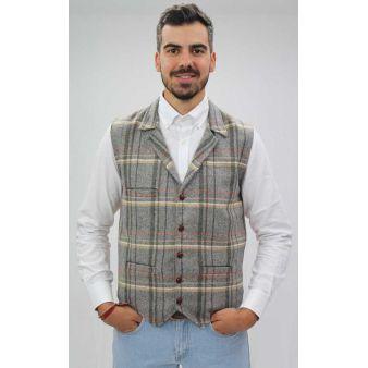Grey Duque model waistcoat