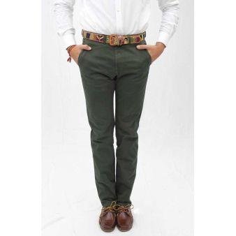 Pantalón caballero verde