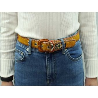 Mustard coloured boy's belt