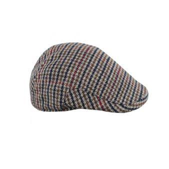 Monteu houndstooth brown cap