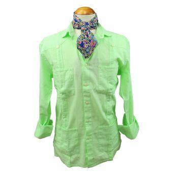 Fluoride green linen Cuban...