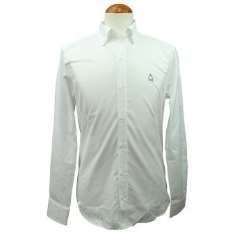 Camisa blanca con bordado