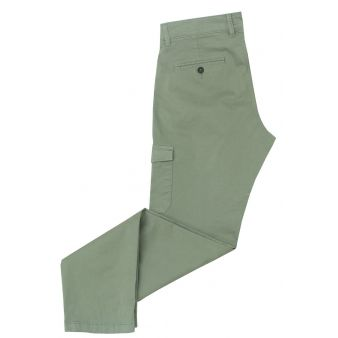 Pantalón hombre verde