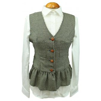 Almendro model houndstooth...