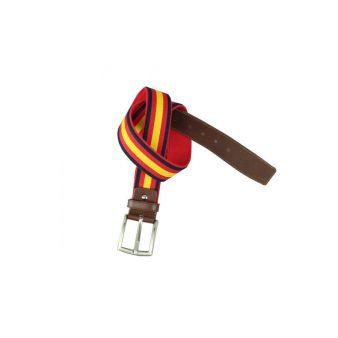 Cinturón lona bandera España