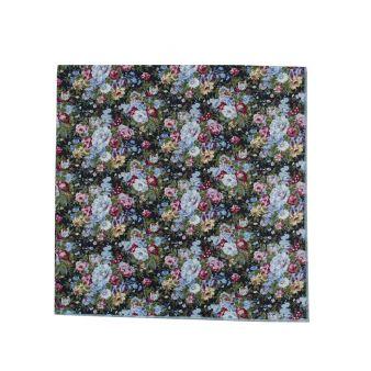 Pañuelo cuello flores