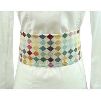 Small sash with diamonds