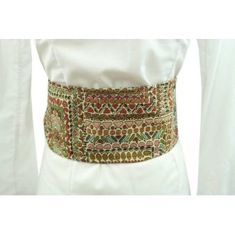 Small Aztec patterned sash
