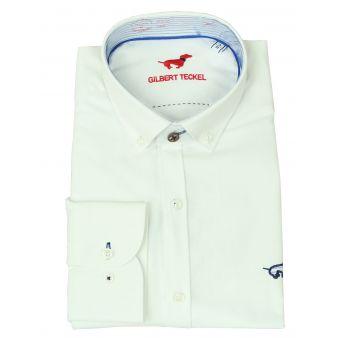 Camisa botones blanca