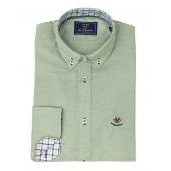 Camisa oxford kaki