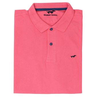Short sleeve polo shirt in...