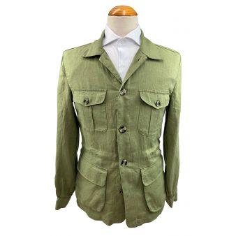 """Green """"Tahiti"""" overshirt"""