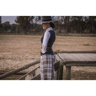 rider-skirt-taupe-sky blue