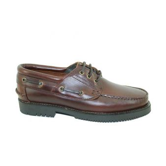 Laced seahorse deck shoe