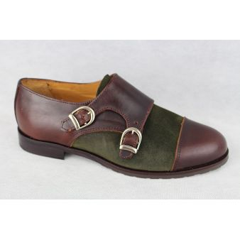Zapato dos hebillas mujer...
