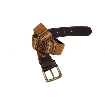 Camel coloured belt with...