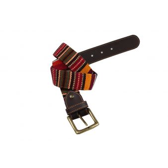 Multi-coloured belt