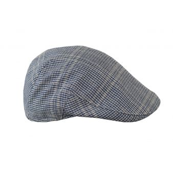 Monteu gray checked cap