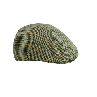 Country cap with green checks