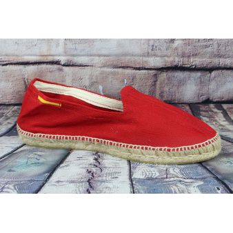 Esparto loafer in red with...