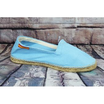 Esparto loafer in sky blue...