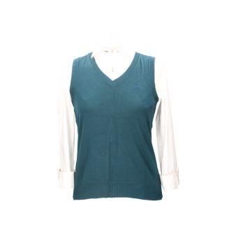 Jersey sin mangas verde