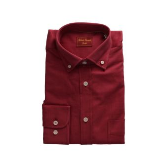 Gentleman's serge maroon shirt
