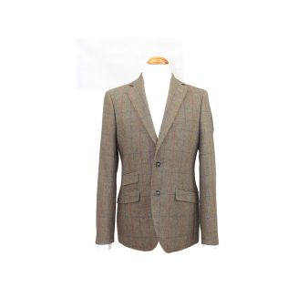 Green checked Tuscany blazer