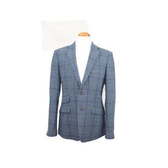 Blue checked Tuscana model...