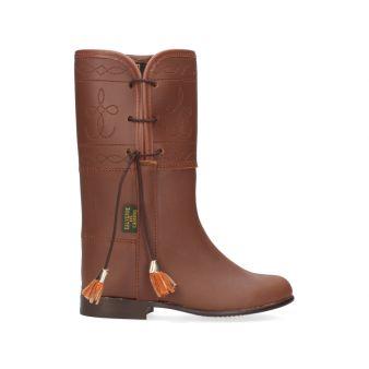 Open boy's boot