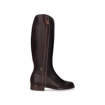 Boy's topstitched riding boot