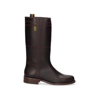Calfskin cowboy boot