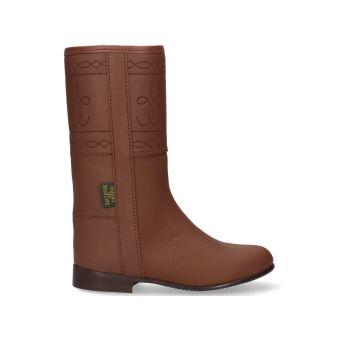 Boy's boot with zipper