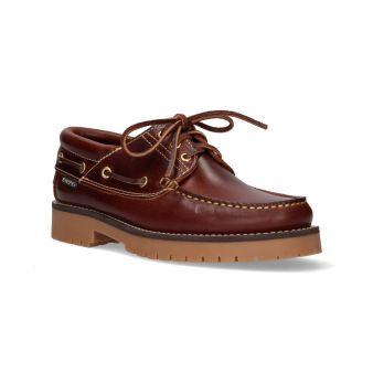 Zapato náutico Snipe marrón