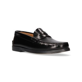 Black moccasin for boys...