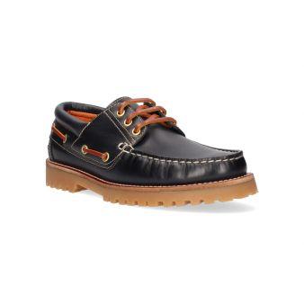 Navy Back to School Deck Shoe