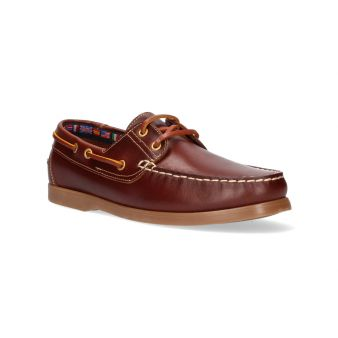 Blaze laced deck shoe