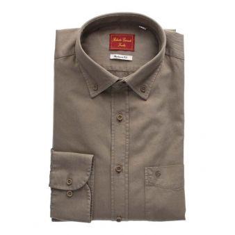 Camisa lisa taupe