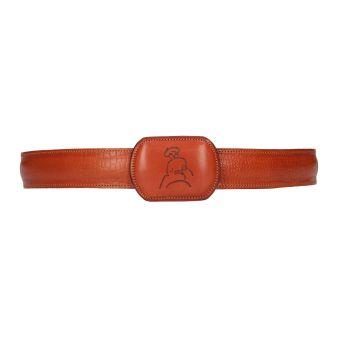 Cinturón grabado caimán...