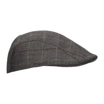 Gorra campera espiga gris