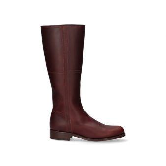 Cowboy calfskin boot with...