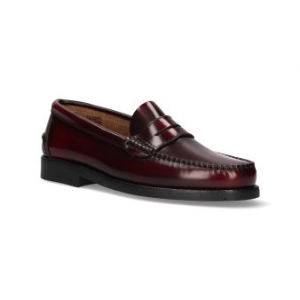 Moccasin with Burgundy Shoe...