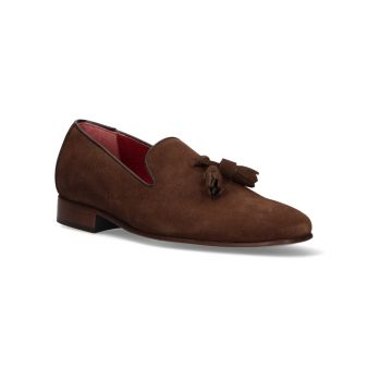 Loafer with Brown Suede...